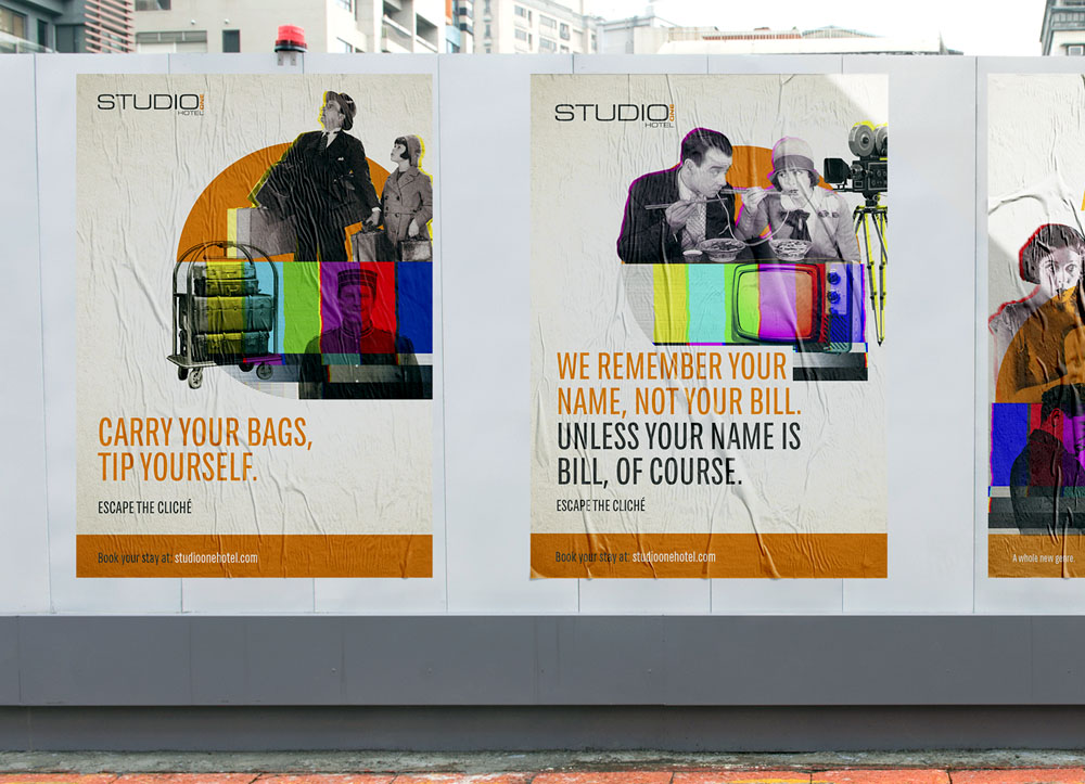 studio-one-hotel-bill-posters