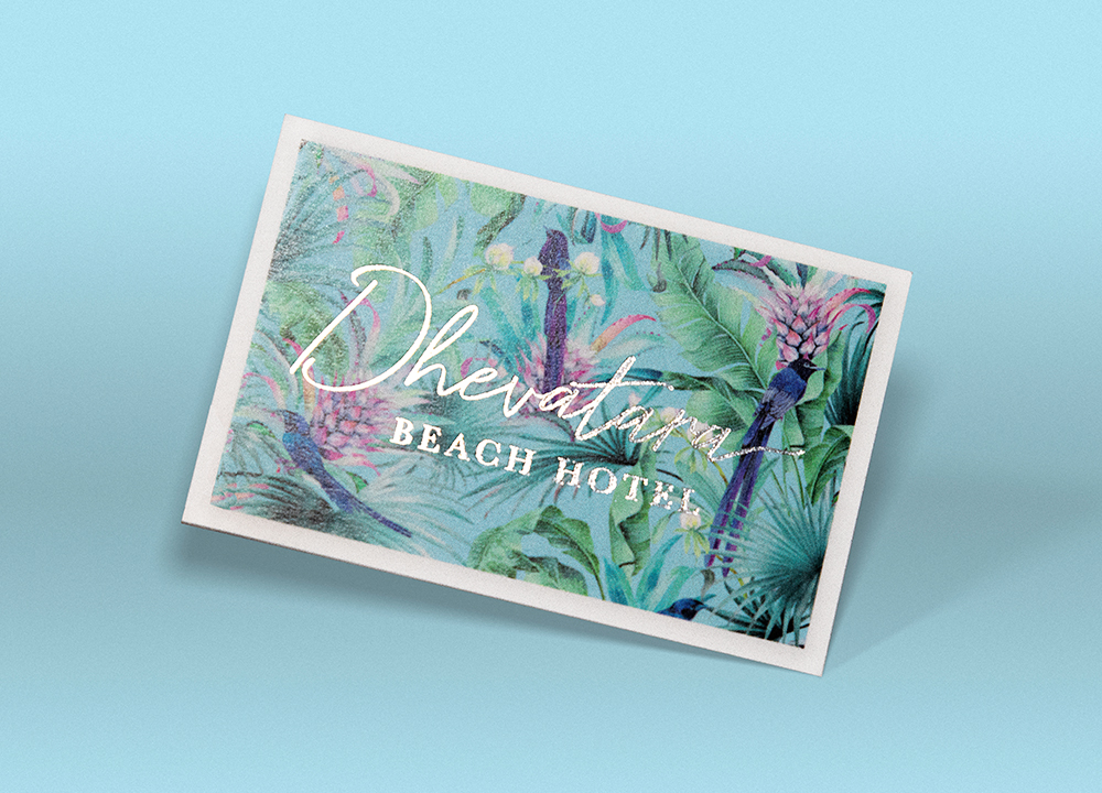 Dhevatara-Beach-Hotel-Business-Cards
