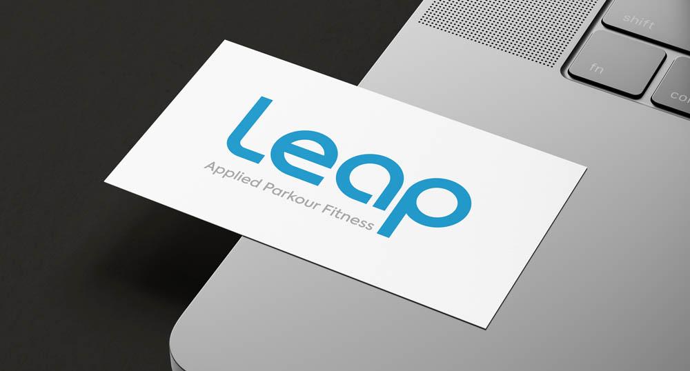 Leap-parkour-business-card-design