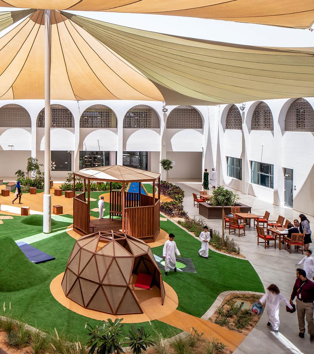 al-karamah-school-abu-dhabi-playground