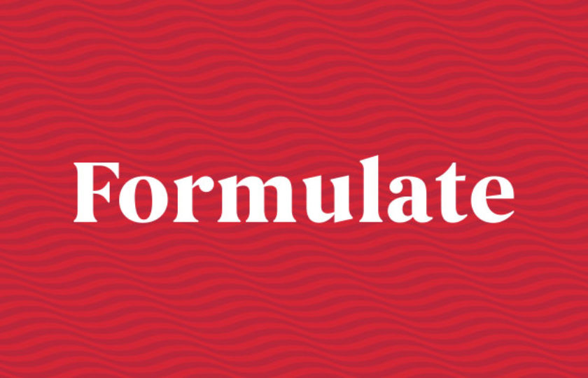 We are Formulate