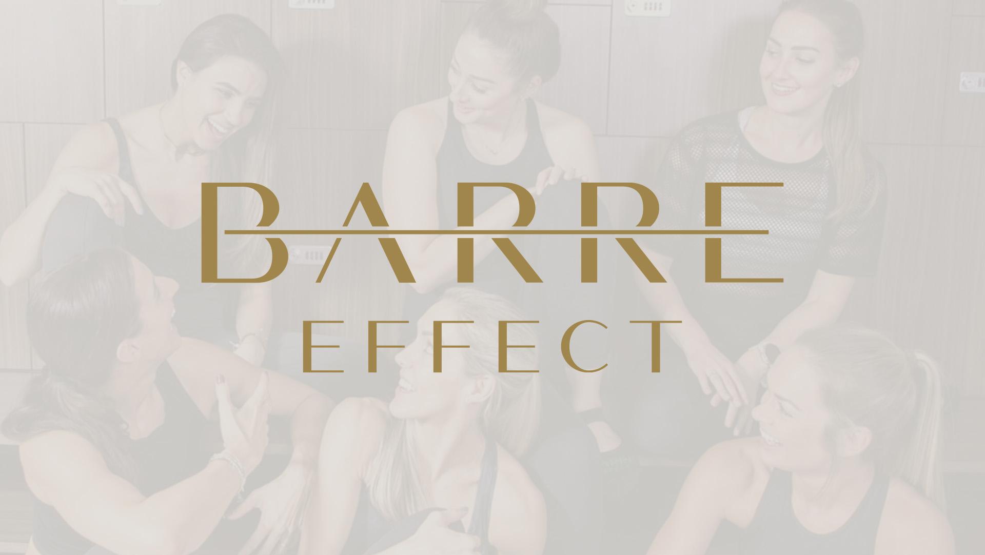 Barre Effect fitness studio branding