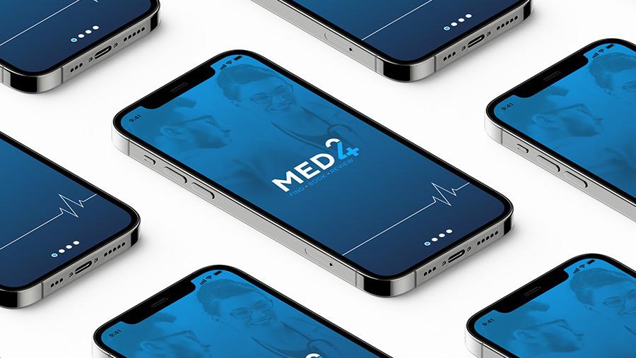Med24 branding & app design