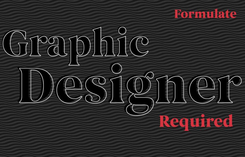 Creative Freelance Graphic Designer Required