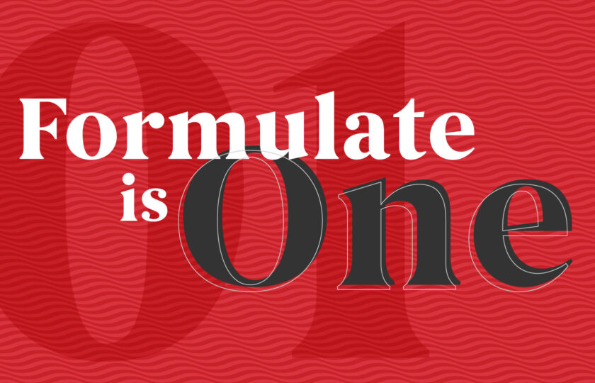 Formulate is One!